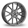 8.5x20 (Front) & 10x20 (Rear) VEEMANN V-FS23 Graphite Alloy Wheels