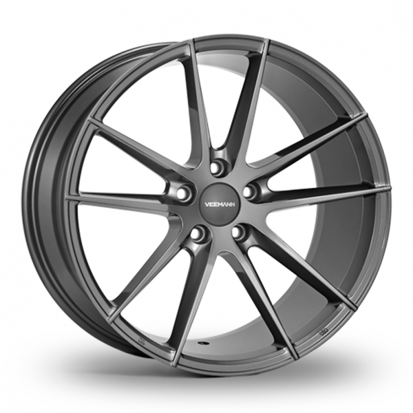 "Picture of 20"" VEEMANN V-FS25 Gloss Graphite Wider Rear"
