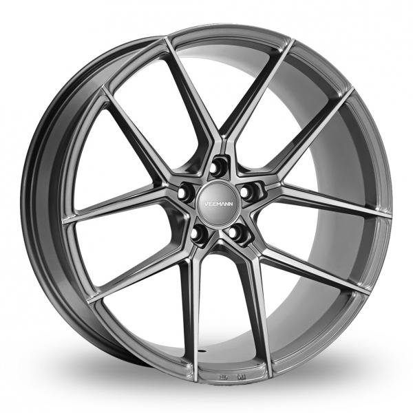8.5x19 (Front) & 9.5x19 (Rear) VEEMANN V-FS39 Graphite Alloy Wheels