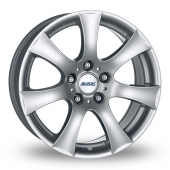 Alutec V (with 20mm Spacer Kit) Silver Alloy Wheels