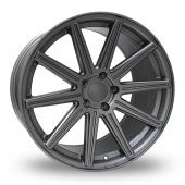 Hub Design V10 Matt Grey Alloy Wheels