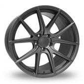 Hub Design V5 Matt Grey Alloy Wheels