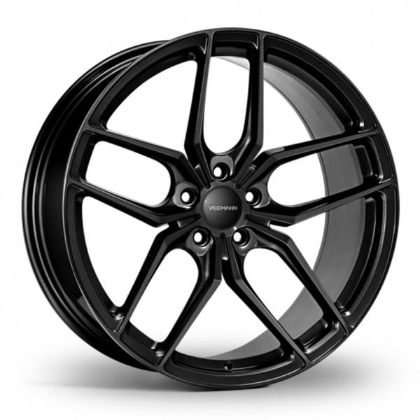 19 Inch VEEMANN VC03 Gloss Black Alloy Wheels