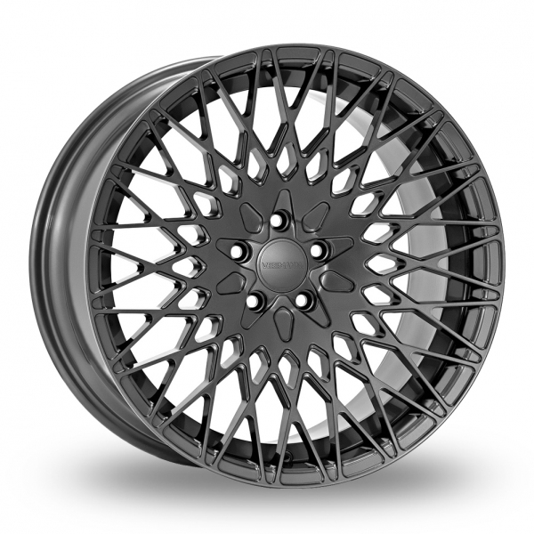 """Picture of 20"""" VEEMANN VC540 Gloss Graphite Wider Rear"""