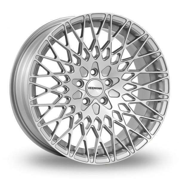 19 Inch VEEMANN VC540 Silver Polished Alloy Wheels