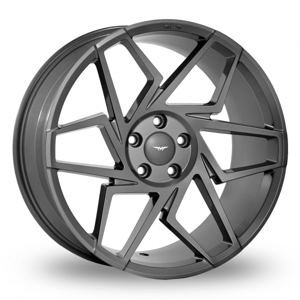 "Picture of 19"" VEEMANN V-FS27R Gloss Graphite Wider Rear"