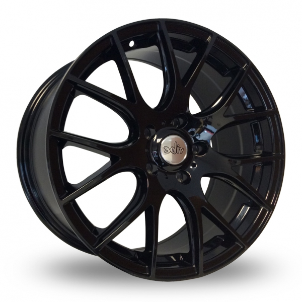 "Picture of 18"" Vibe 001 Gloss Black"