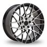 19 Inch Velare VLR03 Black Polished Alloy Wheels