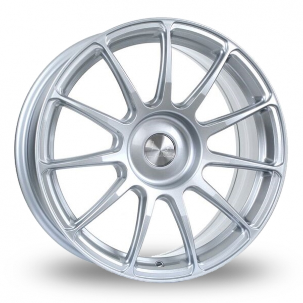 17 Inch Bola VST Hyper Silver Alloy Wheels