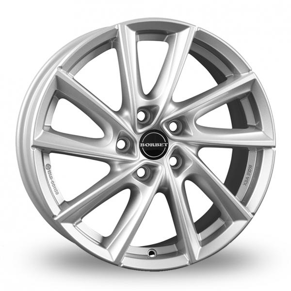 Borbet VT Silver