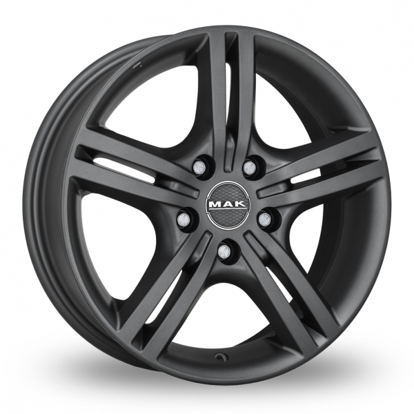 "Picture of 16"" MAK Veloce Matt Titan"