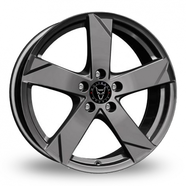 17 Inch Wolfrace Kodiak Graphite Alloy Wheels