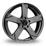 17 Inch Wolfrace Kodiak Graphite Alloy Wheels