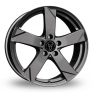 18 Inch Wolfrace Kodiak Graphite Alloy Wheels
