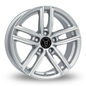 Wolfrace Antares Silver Alloy Wheels