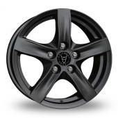 Wolfrace Arktis Gloss Black Alloy Wheels