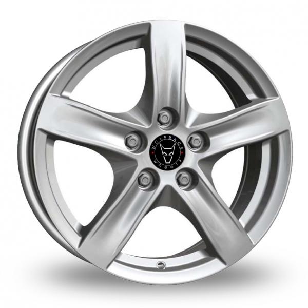 Wolfrace Arktis Silver Alloy Wheels