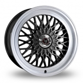 Wolfrace Classic Gloss Black Alloy Wheels