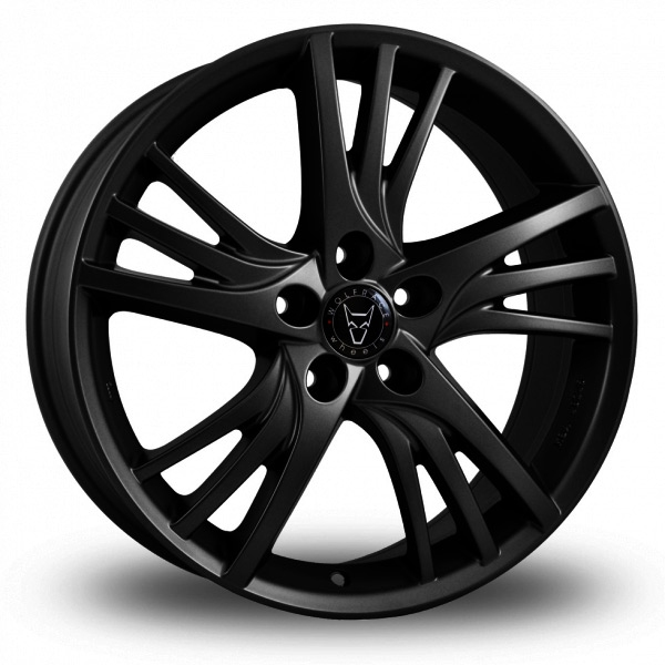 "Picture of 16"" Wolfrace Padua Black"