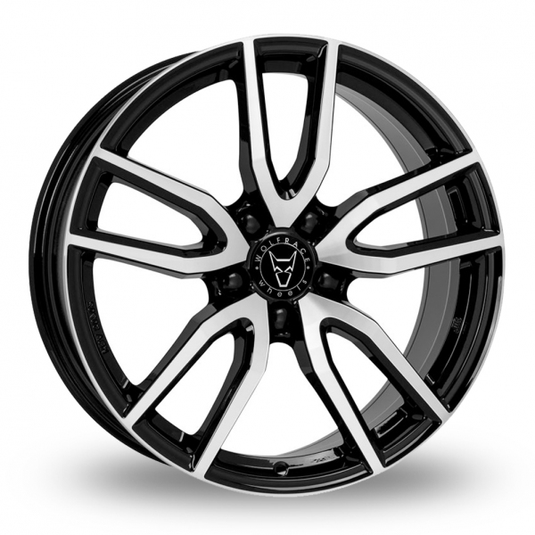 "Picture of 18"" Wolfrace GB Torino Black/Polished"