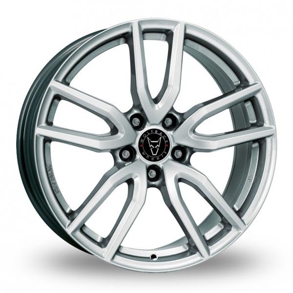 "17"" Wolfrace GB Torino Silver Alloy Wheels"