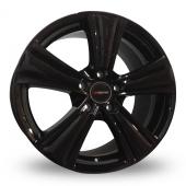 Xtreme X90 Black Alloy Wheels