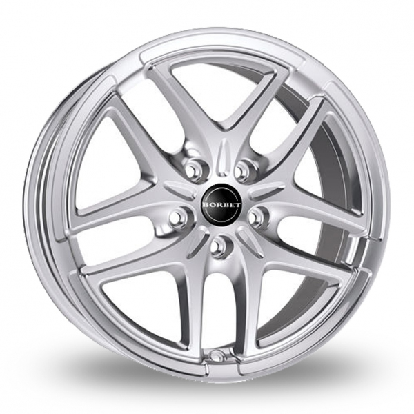 "Picture of 16"" Borbet XB Silver"
