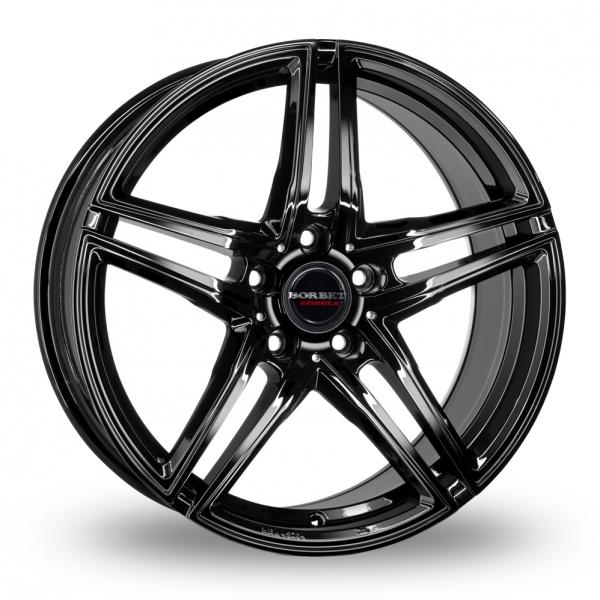 borbet xrt gloss black 18 alloy wheels wheelbase. Black Bedroom Furniture Sets. Home Design Ideas