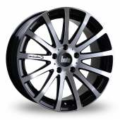 XTR BLACK POLISHED Alloy Wheels