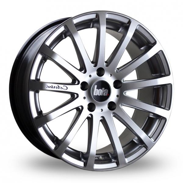 "18"" Bola XTR Hyper Silver Alloy Wheels"