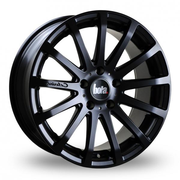 """18"""" Bola XTR Matt Black Alloy Wheels"""