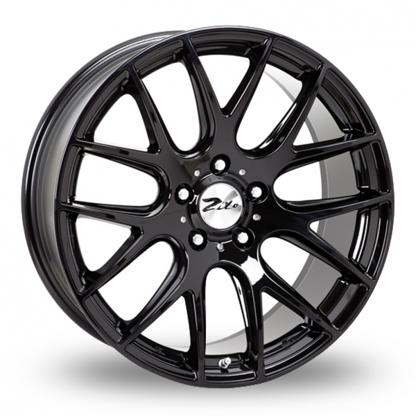 "Picture of 19"" Zito 935 Gloss Black Wider Rear"
