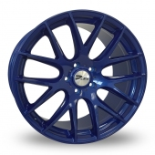 Zito ZL935 Blue Alloy Wheels