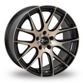 Zito ZL935 Matt Black Alloy Wheels