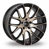 Zito ZL935 Matt Black Alloy Wheels