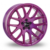 Zito ZL935 Purple Alloy Wheels