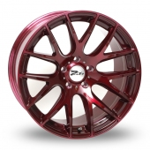 Zito ZL935 Shiraz Red Alloy Wheels