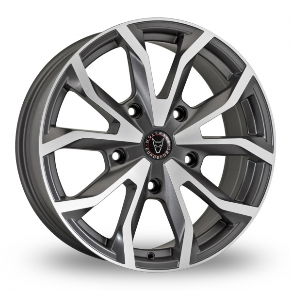 Wolfrace Assassin TRS Grey Polished