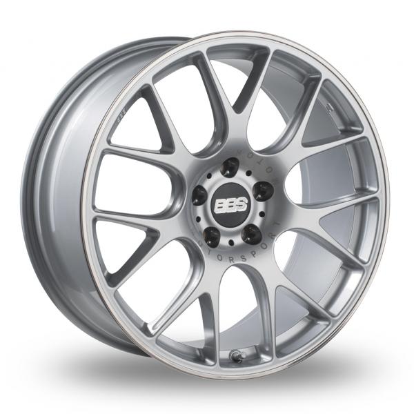 20 Inch BBS CH-R Silver Alloy Wheels