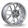 18 Inch BBS CH-R Silver Alloy Wheels