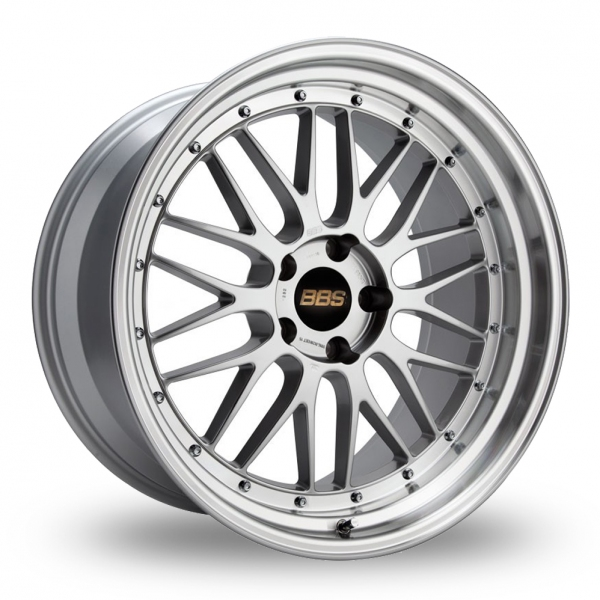 "Picture of 19"" BBS Le-Mans Silver Polished Wider Rear"