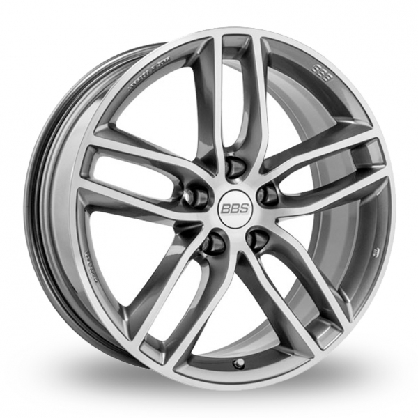 BBS SX Silver Polished Face