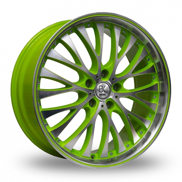 "Picture of 20"" BK 861 Green/Polished"