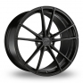 """19"""" OZ Racing (Forged) Zeus Black Anodised Wheel Rims Package"""