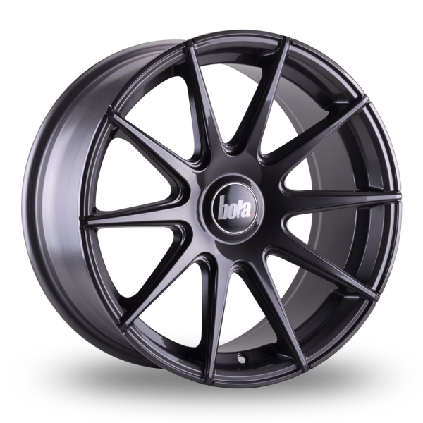 "17"" Bola CSR Dark Gunmetal Alloy Wheels"