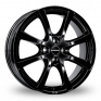 15 Inch Borbet LV4 Black Alloy Wheels