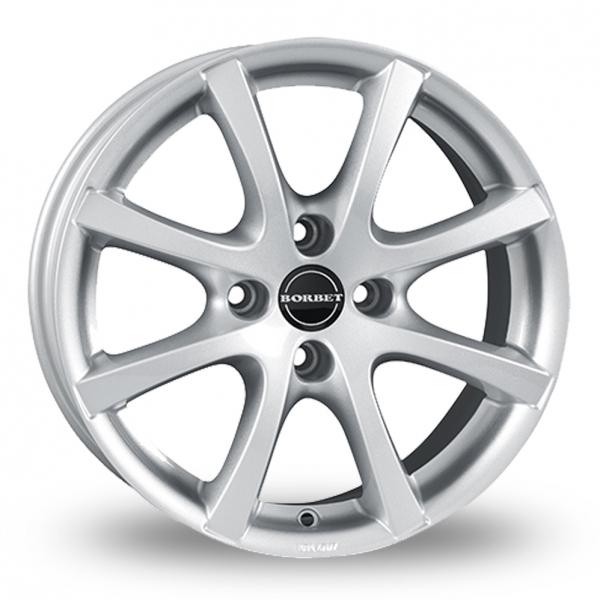 Borbet LV4 Silver