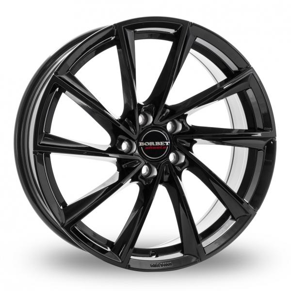 Borbet VTX Wider Rear Gloss Black