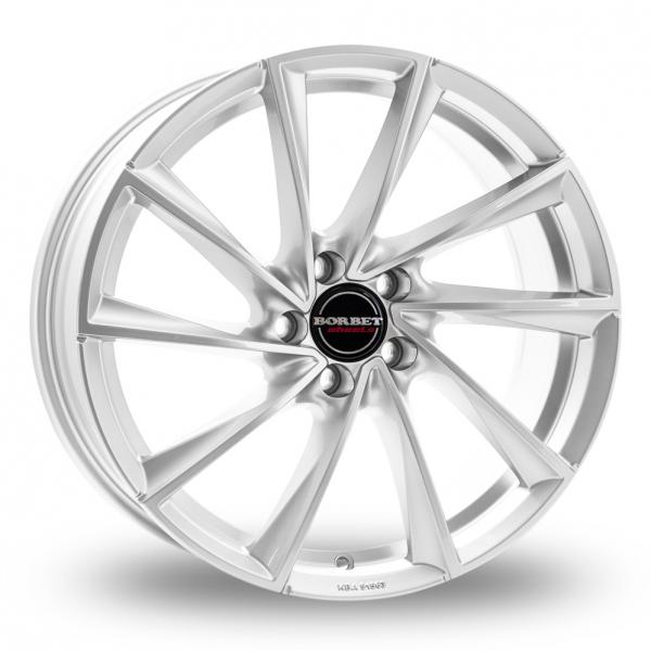 Borbet VTX Wider Rear Silver