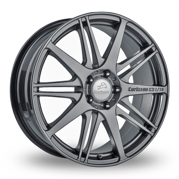 "Picture of 19"" Carlsson C1/10 Matt Graphite Wider Rear"